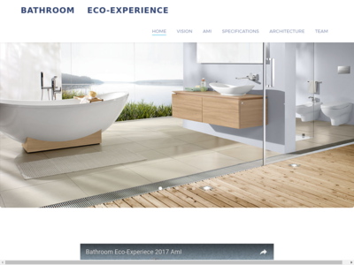 Bathroom Eco-Experience homepage