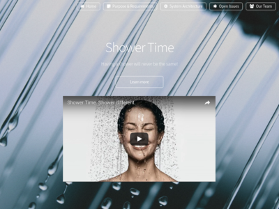 Shower Time homepage