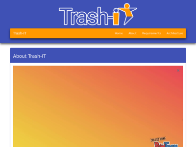 Trash-IT homepage